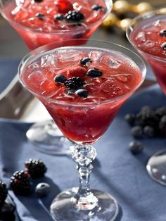 If you're a lover of berries, this is the cocktail for you. It combines raspberries, blueberries and blackberries for a fruity combination. Get the recipe on HGTV.com.