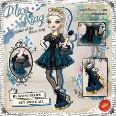 Mice King daughter of The Mouse King from The Nutcracker and the Mouse King Disney Characters As Humans, Ever After High Rebels, Pelo Anime, Ballet Moves, How To Make Tutu, Raven Queen, Cute Anime Profile Pictures, Beautiful Anime Girl, High Art