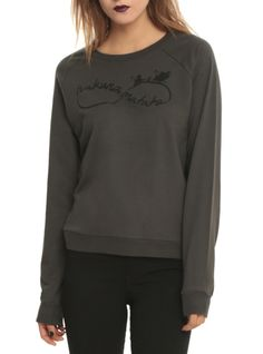 """Grey pullover top from The Lion King with a """"Hakuna Matata"""" infinity symbol design."""