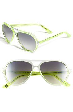 MICHAEL Michael Kors 57mm Aviator Sunglasses available at  Nordstrom Roupas  Estilosas, Sapatos, Óculos 50875550fa