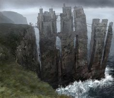 "Pyke / The Iron Islands: Seasons 1 and 2 The Original ""Game Of Thrones"" Concept Art Has To Be Seen To Be Believed"