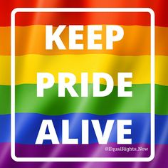 [Every month should be PRIDE Month] #BeProud #LGBTPride #LoveWins #BeWhoYouAre #equality