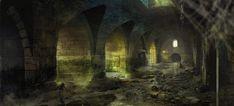 Sewers Witcher3 Marek Madej by Marmad.deviantart.com on @deviantART