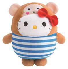 Bubbly Day Hello Kitty Osaru No Monkichi plush toy at McDonald's Hong Kong