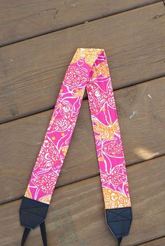 CAMERA STRAP in Lilly Pulitzer Beverly Hill Bubby by BrowardPatch, $20.00