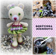 Borůvinka Džemíková, háčkovaná pro radost :-)
