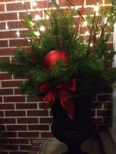 By the door ! Christmas Tree, Doors, Holiday Decor, Home Decor, Teal Christmas Tree, Slab Doors, Puertas, Room Decor, Xmas Trees