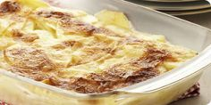 A basic gratin. A simple but lovely X-mas dish. // Aardappelgratin. Simpel en heerlijk voor het kerstmenu.