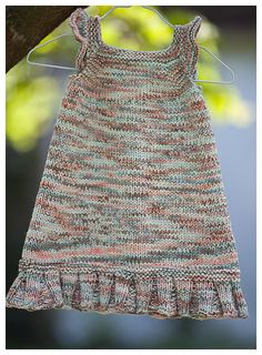 Use whatever yarn and needles you want. Do a little math and create a customized dress for a little girl that you love! Yarn Needle, Baby Dress, Little Girls, Knit Crochet, Knitting, Pattern, Math, Create, Tops