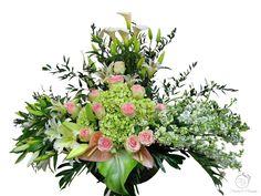 Flowers and Blossoms Sympathy flowers Casket Sprays, Sympathy Flowers, Funeral Flowers, Blossoms, Floral Wreath, Wreaths, Decor, Flowers, Decoration