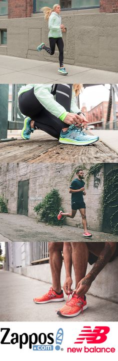 Look to the horizon and put the miles behind you in New Balance Fresh Foam!