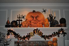 Halloween: The Great Pumpkin!  Love the impact this makes!!