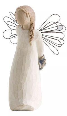 Willow Tree Thank You Angel Figurine. Enesco. Best Price #Enesco