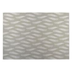 Kavka Designs / Grey Cheer Field 2' x 3' Indoor/ Outdoor Floor Mat
