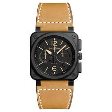 Auction target: $118.54 | BELL & ROSS AVIATION BR 03 HERITAGE AUTOMATIC WATCH
