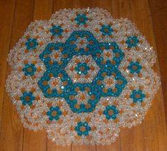 Resultado de imagen para seed bead doily patterns