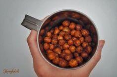 Fűszeres sült csicseriborsó - egyszerű és gyors nasi   Konyhalál