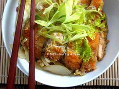 Just Try & Taste: Chicken Katsu Don a la JTT