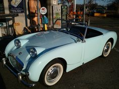 """Spectacular restored 1960 Austin Healey Frogeye Sprite for sale, """"Colin"""" – Page 1708 Vintage Auto, Vintage Cars, Austin Healey Sprite, Mg Midget, Mk 1, British Sports Cars, Old Classic Cars, Automotive Art, Old Cars"""