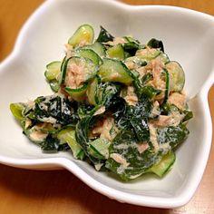 あるものでさっと作れちゃうサラダ☻  時間がない時にもってこいの一品です‼︎✨ - 15件のもぐもぐ - ワカメとキュウリ&ツナで簡単サラダ by ayumin26