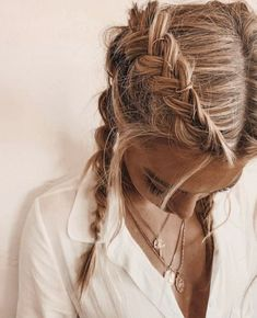 Greasy Hair Hairstyles, Cute Hairstyles, Braided Hairstyles, Halloween Hairstyles, Hairstyle Ideas, Formal Hairstyles, Wedding Hairstyles, Hairstyles For Homecoming, Summer Hairstyles For Medium Hair