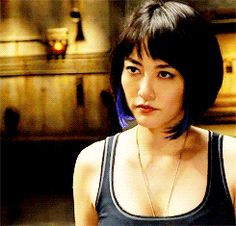 Mako Mori might be the only female character in PACIFIC RIM, but what a character