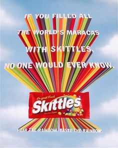 The Skittles Brand Book takes graphic standards to a new place.fun even. I want one for my coffee table.