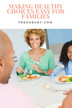 Healthy eating doesn't have to be hard! Tips for making healthy eating easy for families.