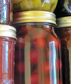 Creating Nirvana: Canning Cherries in Apple Juice