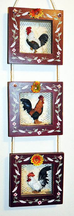 9 Diy Vintage Rooster Projects Printables Pinterest