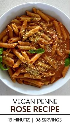 Penne Rose, also called Pink Sauce Pasta, is a veganized version of a traditional creamy tomato pasta recipe. Made with a few simple ingredients, this easy pasta recipe is perfect for a quick and easy weeknight meal. The pink pasta sauce is oil-free and nut-free, so give this vegan version of an Italian Penne Rose a try!Continue reading....