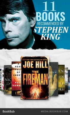 Check out 11 books recommended by Stephen King.