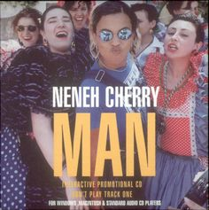 """For Sale - Neneh Cherry Man UK Promo  CD single (CD5 / 5"""") - See this and 250,000 other rare & vintage vinyl records, singles, LPs & CDs at http://eil.com"""