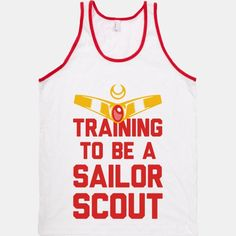 Training To Be A Sailor Scout | T-Shirts, Tank Tops, Sweatshirts and Hoodies | HUMAN