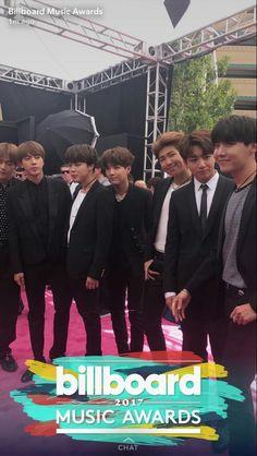 BTS on Billboard Music Award
