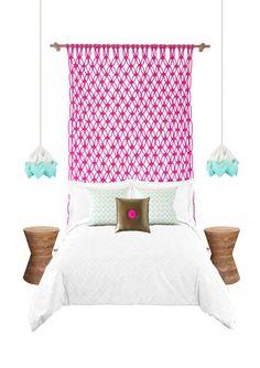 macrame neon bedhead - Petite VIntage Interiors!!!!!!!!!!!!!!!!!!!!!!!!!!!!!!!!!!!!!!!!!!!!!!!!!!!!!!