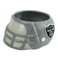 For my chips and dip!  Oakland Raiders Ceramic Helmet Bowl  #UltimateTailgate #Fanatics