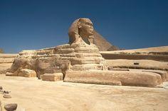 * A Grande Esfinge de Gizé *  Gizé, Egito.