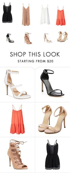 """""""Untitled #318"""" by karismasantos on Polyvore featuring Finders Keepers, INC International Concepts, Stuart Weitzman, Topshop, Office and Sans Souci"""