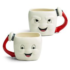 Ghostbusters Stay Puft Marshmallow Face Mug