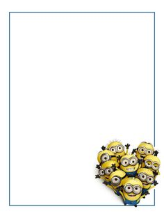 """Minions - Universal - Project Life Journal Card - Scrapbooking ~~~~~~~~~ Size: 3x4"""" @ 300 dpi. This card is **Personal use only - NOT for sale/resale** Logos/clipart belong to Universal. ***Click through to photobucket for more versions of this card including the Minion Mayhem logo***"""