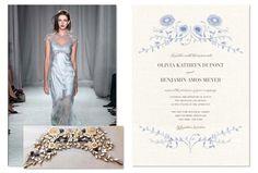 Marchesa Wedding Paper Divas Collection - Vines
