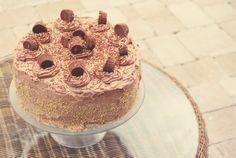 Chocolate-Peanut Butter Cake (Reese's Cake) | Spache the Spatula