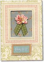 LeeNote:  WOW! Heather Benfer has a really great Anna Griffin pin board! Thanks, Heather!...406 Card Anna Griffin & Oak Leaf Acre Pretty card, femine