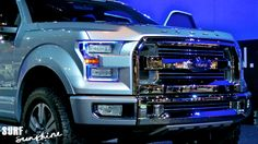 This concept Ford Atlas truck is a beast