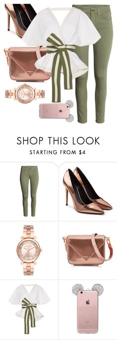 """Untitled #27"" by sandrabcmoonen ❤ liked on Polyvore featuring Alexander Wang, Michael Kors and Johanna Ortiz"