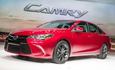 A surprisingly sporty new attitude and clear sense of motion. #2015Camry #Toyota #LetsGoPlaces