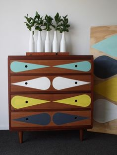Oh So Lovely Vintage: On a roll - dresser maker by NZ Company