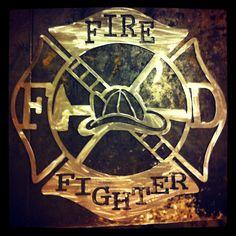 Fireman S Maltese Cross Metal Art Pinterest
