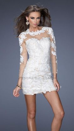 White Mini Short Beautiful Sexy Homecoming Dresses for Girl